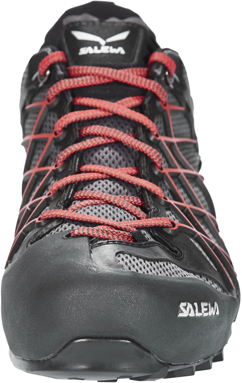 sale retailer 34cf1 91a4d SALEWA Wildfire GTX Shoes Men black out/bergot